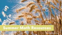 Five Sources of Summer Math Activities for Elementary School Students