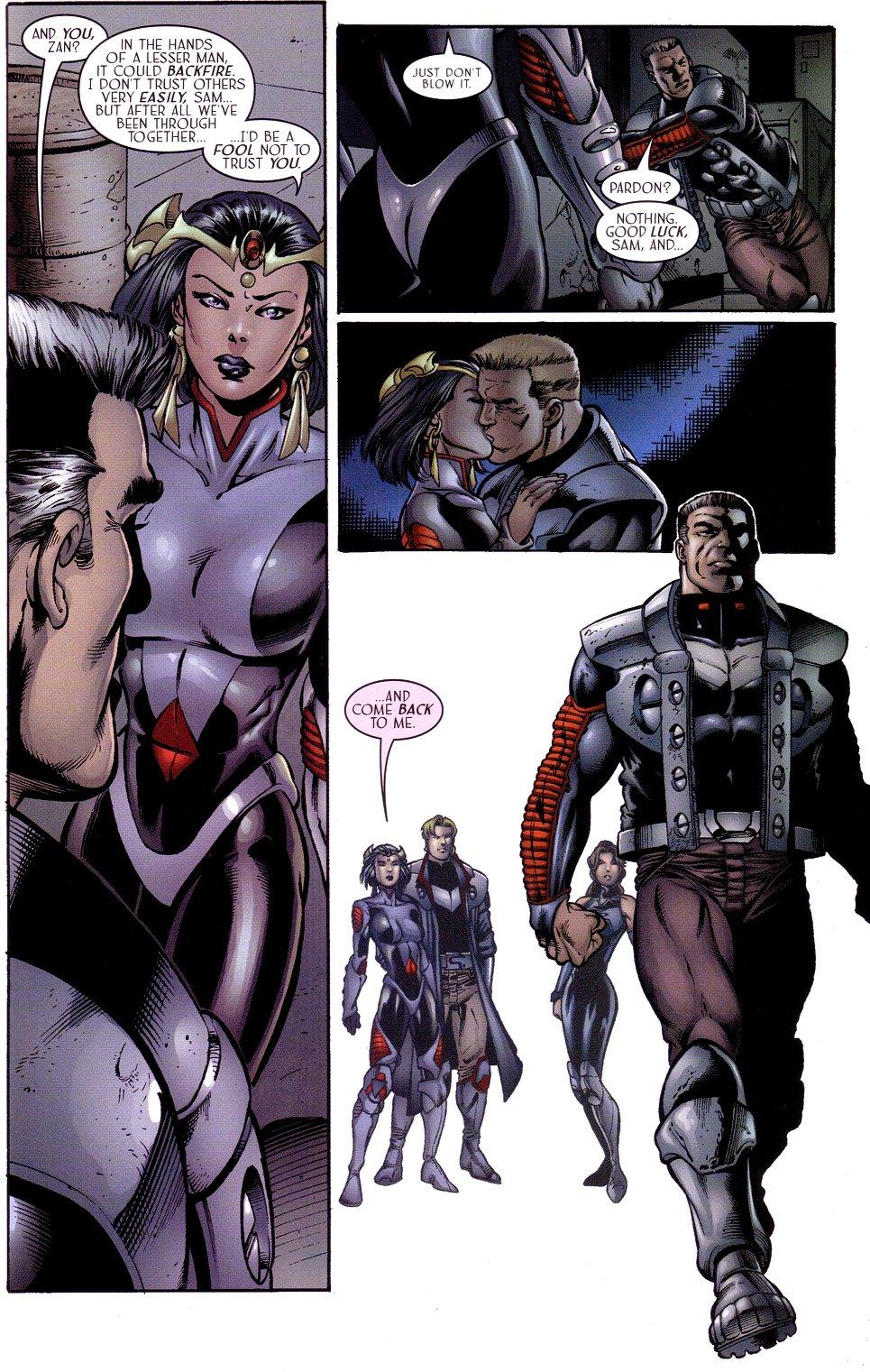 Read online Sigil (2000) comic -  Issue #15 - 21