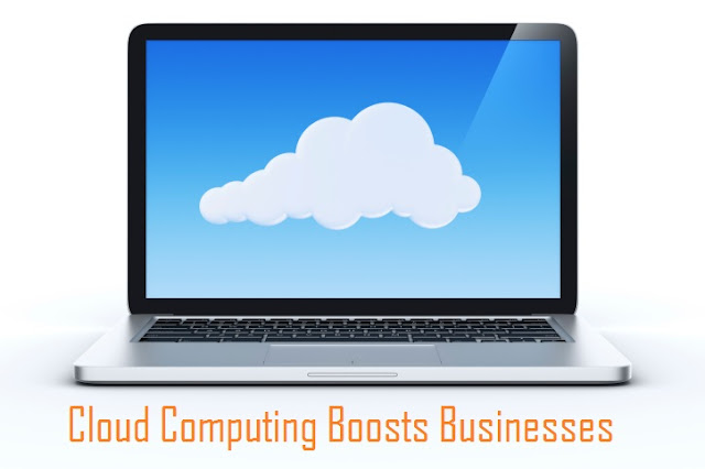 Cloud Computing Boosts Businesses [Infographic]