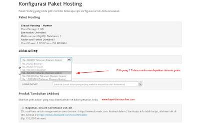 Cara Membeli Domain Dan Hosting Di Dewaweb