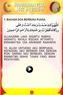 Bacaan Doa Berbuka Puasa dan Artinya