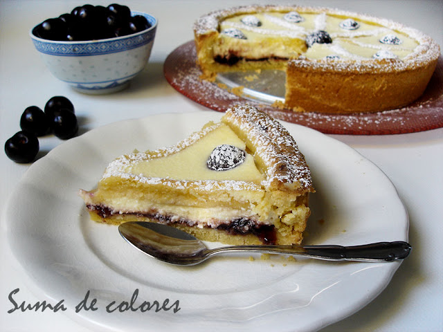 Crostata-Ricotta-cerezas-03
