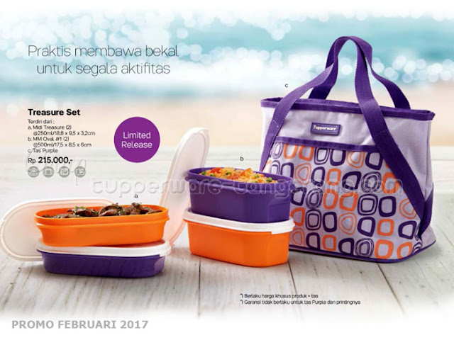 Treasure Set Tupperware Promo Februari 2017