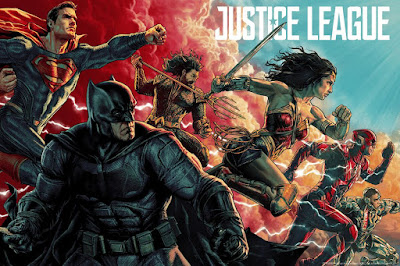 póster de Justice League dibujado por Lee Bermejo