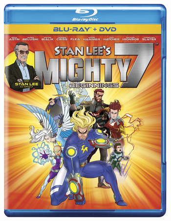 Stan Lee's Mighty 7 2014 Dual Audio 720p BRRip [Hindi - English]