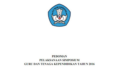 pedoman pelaksanaan simposium GTK 2016
