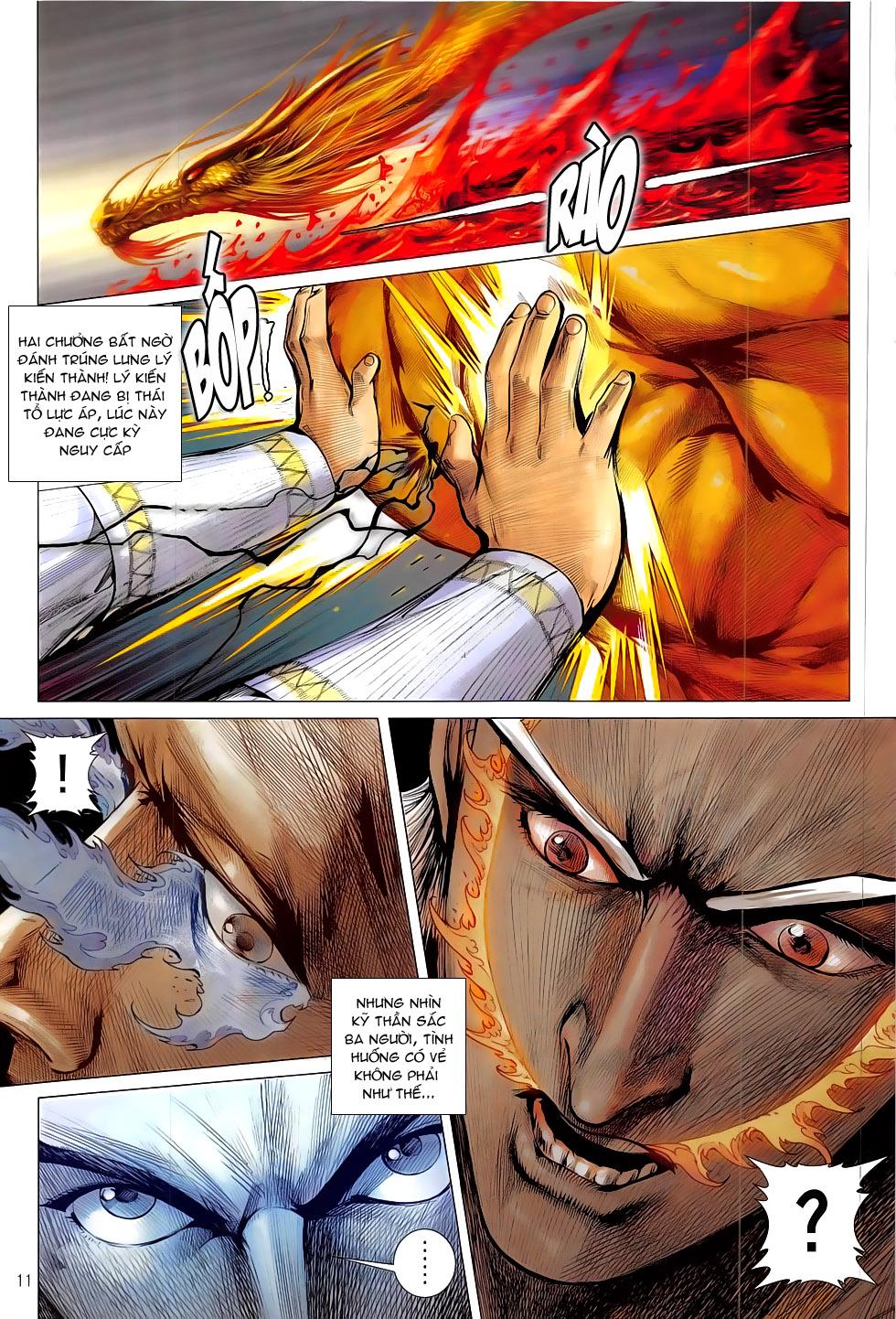 Thiết Tướng Tung Hoành Chap 177