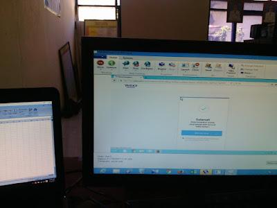 Praktek Membuat Email Kelas IX Tahun 2017