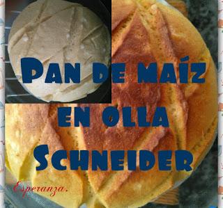 Pan De Maíz En Olla Schneider