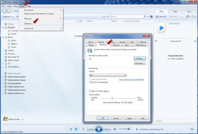 Как да копираме рипваме музика песни от диск в MP3 – Rip CD