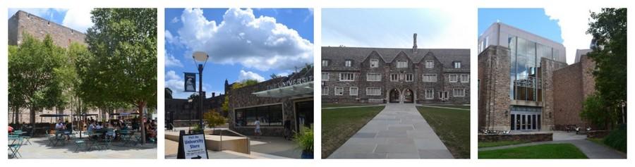 Visite de Visiter de l'université de Duke