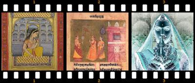 Images of Paintings of Queen Padmavati , Queen Nagmati