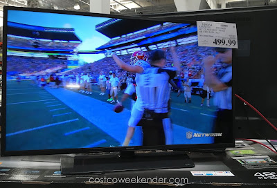 Invite some friends over and watch the big game on the Samsung UN40JU640D 40 inch tv
