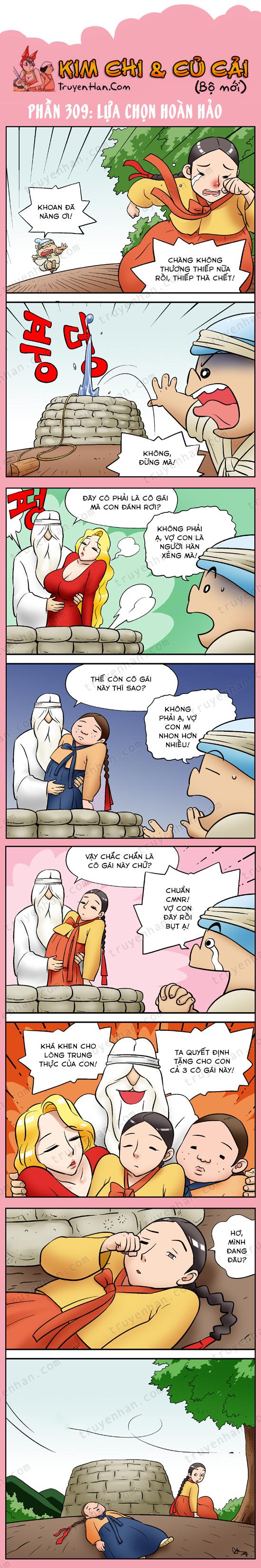 Kim Chi & Củ Cải (bộ mới) phần 309: Lựa chọn hoàn hảp
