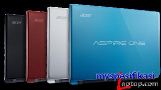 Spesifikasi dan Harga Acer Aspire One D270