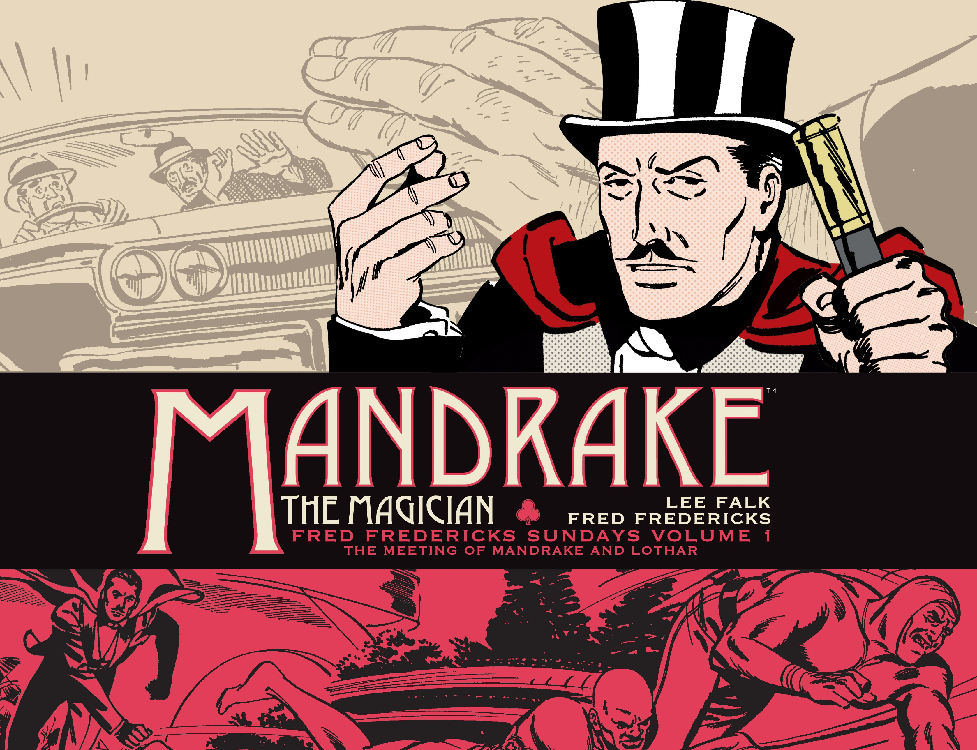 Mandrake the Magician: The Fred Fredricks Sundays TPB_(Part_1) Page 1
