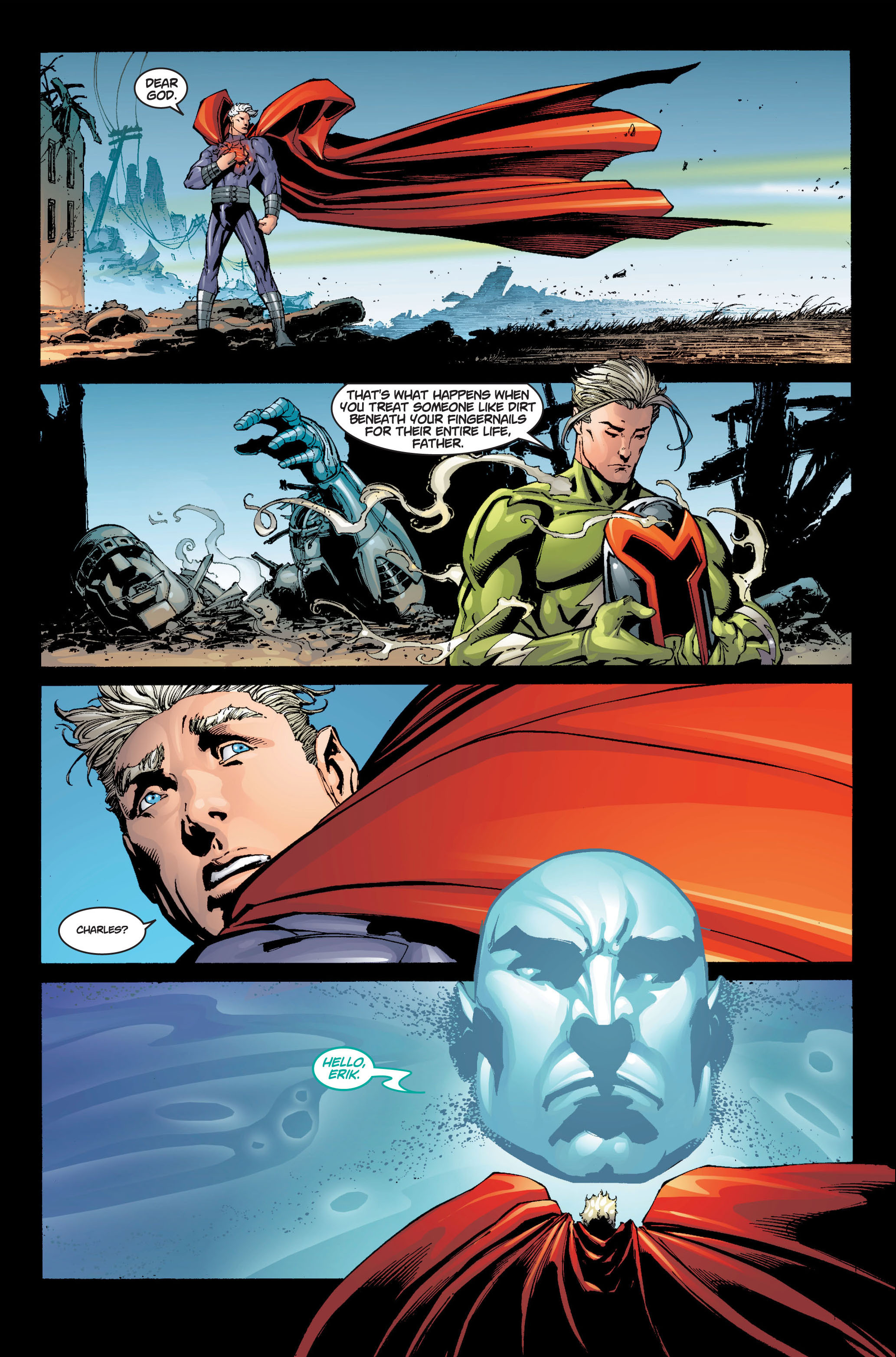 Read online Ultimate X-Men comic -  Issue #6 - 18