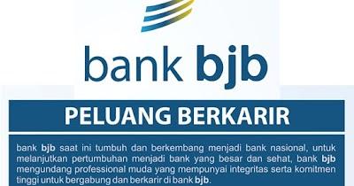 Lowongan Kerja Bank BJB Terbaru 2016 Kembali Dibuka!