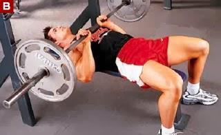 تمارين تضخيم عضلات التراى