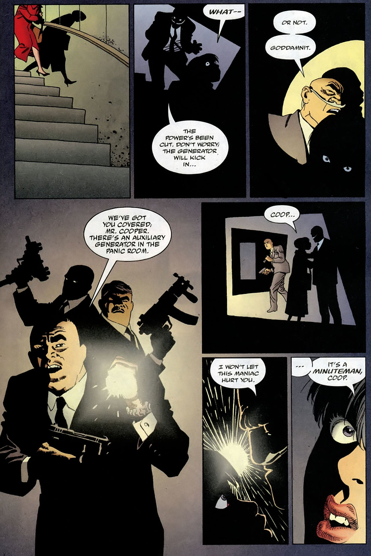Read online 100 Bullets comic -  Issue #93 - 17