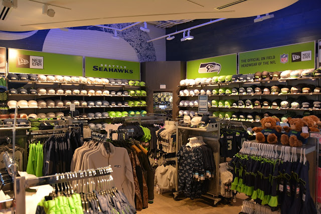 Century Link Field Seattle shopping