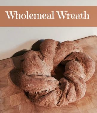 wholemeal wreath