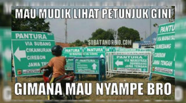 33 Meme Mudik Lebaran Yang Bikin Kamu Nyengir……!