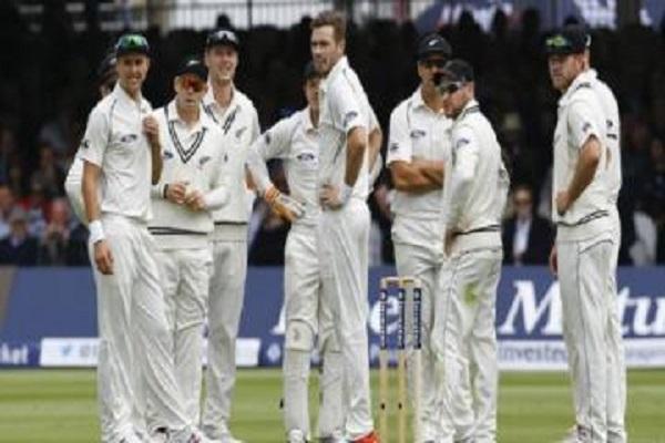 भारत के खिलाफ टेस्ट सीरीज के लिए न्यूजीलैंड टीम का एलान