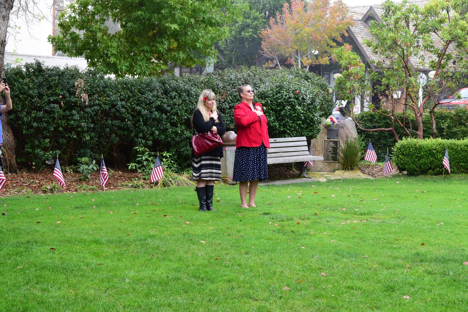 veterans day november 11 2016 dedication of the war memorial