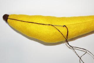 Bananas%2Band%2Blemons%2B043 - Banana de feltro