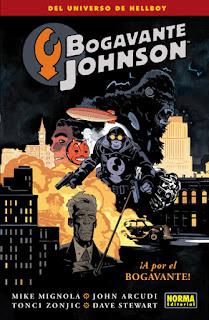 BOGAVANTE JHONSON 4 A POR EL BOGAVANTE  Comic Americano de Mike Mignola, John Arcudi, Toni Zonjic y Dave Stewart