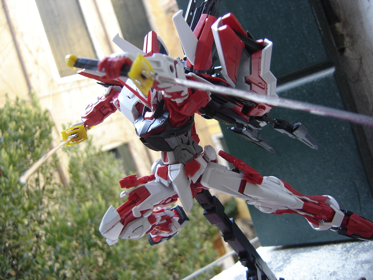 Lightning Ace S Gundams Gundam Astray Red Frame Kai Mg 1 100