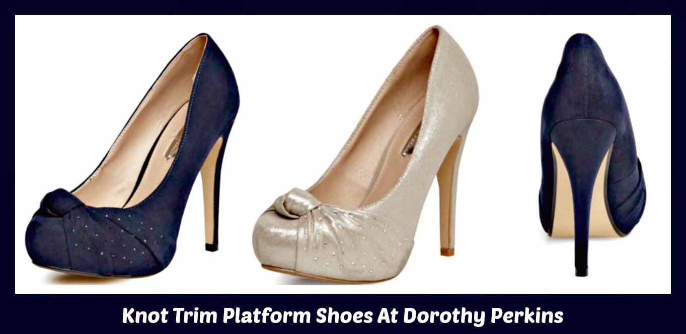 Navy Peep Toe Shoes Size