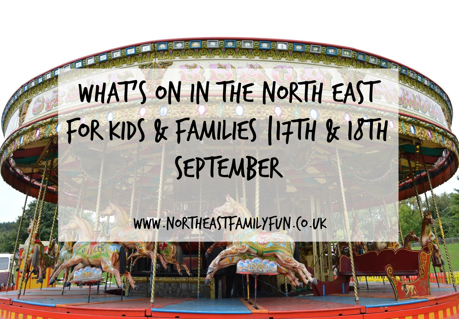 Our guide to what's on for kids and families in the North East on 17th and 18th September. Includes the Festival of Thrift in Redcar and Alnwick Food Festival.