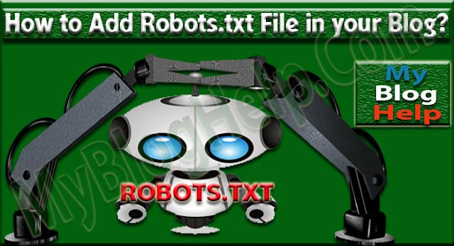 Add Robots.txt file