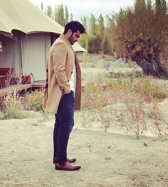 Arjun Kapoor in Brune Boots from Voganow