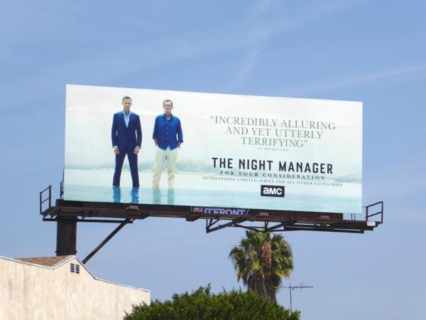 Night Manager 2016 Emmy FYC billboard