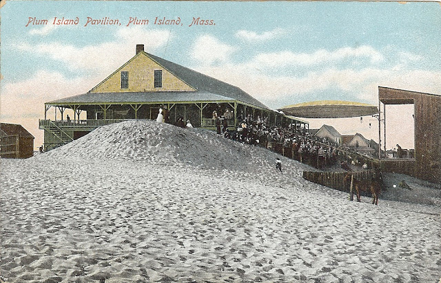 Plum Island Pavilion,  Newbury, Massachusetts, theatre, theater, summer, sand, performance