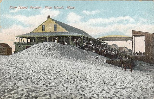 Plum Island Pavilion,  Newbury, Massachusetts, theatre, theater, summer, sand, performance