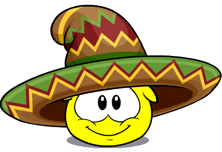 Puffle Sombrero México