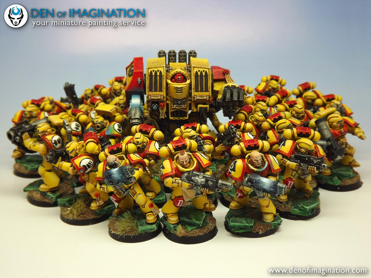 on sale 72c55 a69eb And the customer already ordered a continuation to it  ) 30 marines and  Dreadnought are waiting to be packed and sent into the world.
