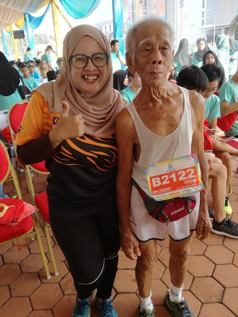 Uncle Ong Kim Hwa IJM Land Half Marathon 2017