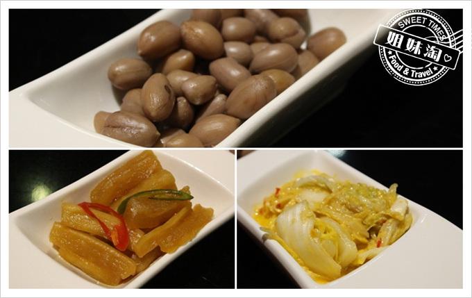 便宜坊-黃金泡菜、花生土豆、醬醃蘿蔔