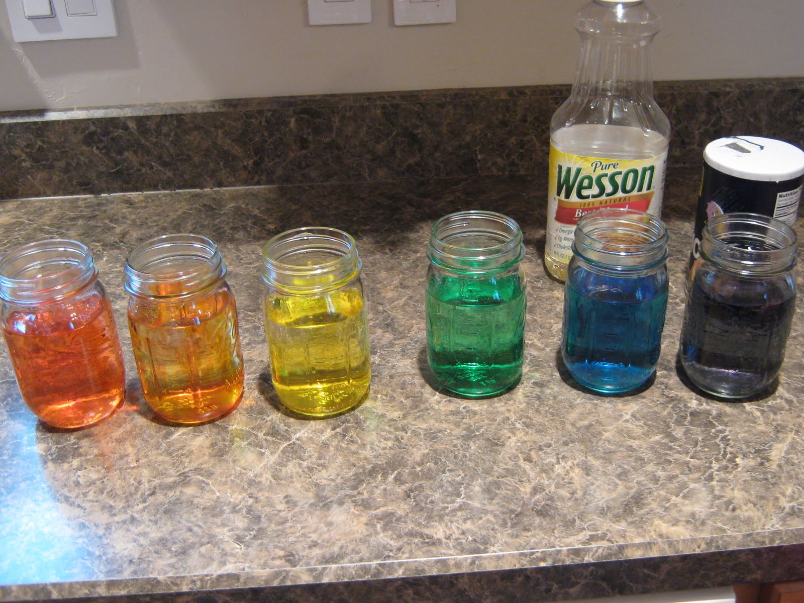 Almost Unschoolers: More Fun With Oil And Water Density ...