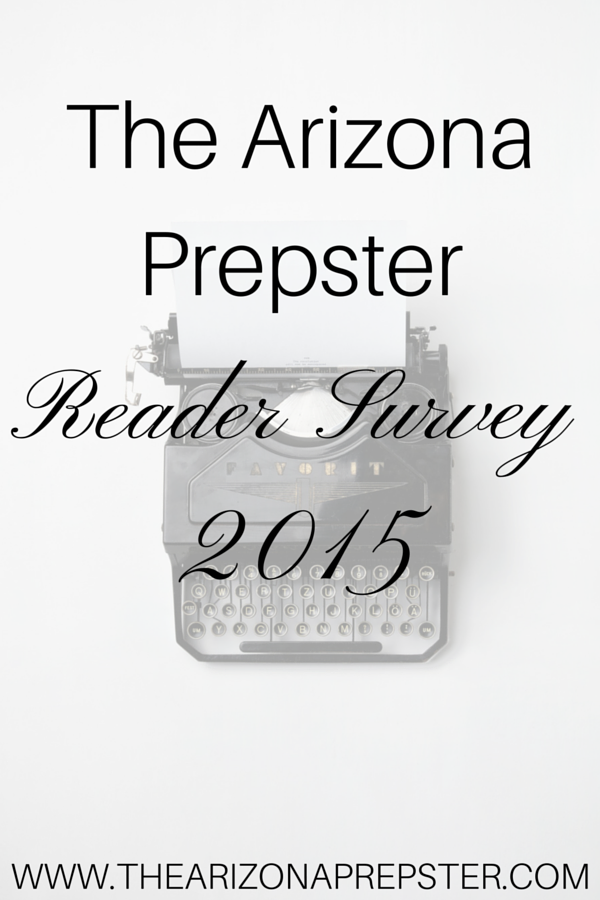 The Arizona Prepster Reader Survey 2015