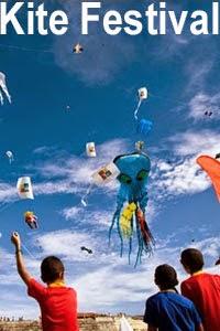 kite flying festival in short essay words