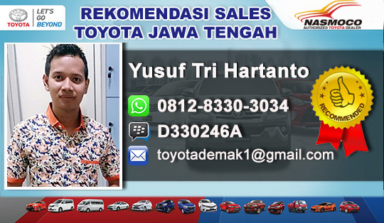 Rekomendasi Sales Toyota Cepu