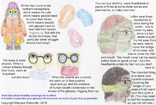 How To Keep Your Face Warm And Your Glasses Unfogged
