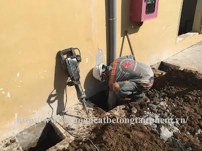 Khoan cắt bê tông tại huyện Gò Quao