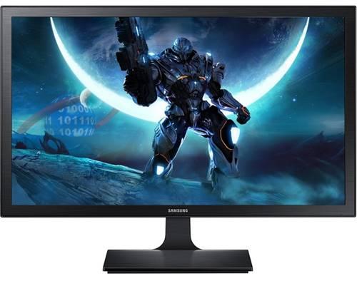 A qualidade de imagem do monitor Samsung S24E310 é visível em todos os ângulos